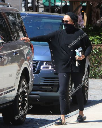 Stock Photo of Yolanda Hadid is seen out in New York City