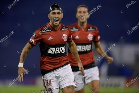 Editorial image of Velez vs. Flamengo, Buenos Aires, Argentina - 21 Apr 2021