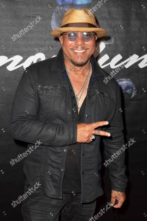 Stock Photo of Howard Hewett attends the Simon Lunche Private Showcase at the SIR Recording Studio