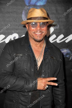 Howard Hewett attends the Simon Lunche Private Showcase at the SIR Recording Studio