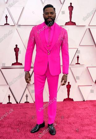Colman Domingo arrives at the Oscars