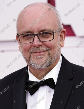 Mark Coulier arrives at the Oscars