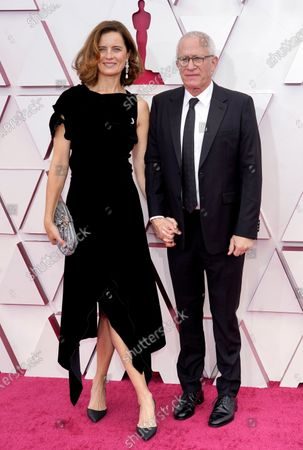 Editorial picture of 93rd Annual Academy Awards, Arrivals, Los Angeles, USA - 25 Apr 2021