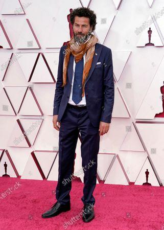 Saleh Bakri arrives at the Oscars