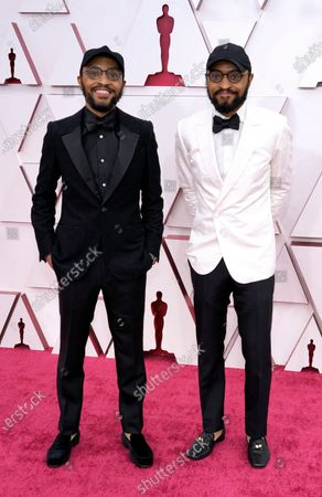 Kenny Lucas and Keith Lucas arrive at the Oscars