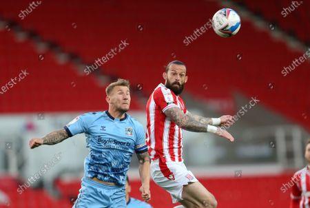 Editorial photo of Stoke City v Coventry City, EFL Sky Bet Championship, Football, The Bet365 Stadium, Stoke, UK - 21 Apr 2021