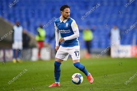 Ivan Sanchez of Birmingham City.
