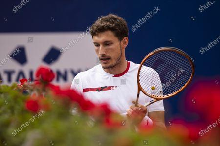 Stock Photo of Pablo Carreno Busta of Spain during the 68th Torfeu Conde de Godó; Real Club de Tennis, Barcelona, Catalonia, Spain; ATP Tour, Mens Singles, Barcelona Open Tennis.