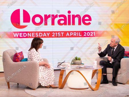 Lorraine Kelly, Gyles Brandreth