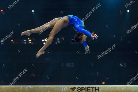 Editorial image of European Artistic Gymnastics Championships, Basel, Switzerland - 21 Apr 2021