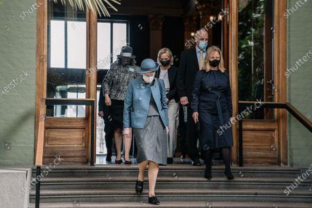Editorial picture of Denmark's Queen Margrethe II opens exhibition, Copenhagen - 21 Apr 2021