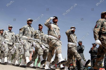 Editorial picture of Summer training of Afghan security forces begin in Herat, Afghanistan - 21 Apr 2021