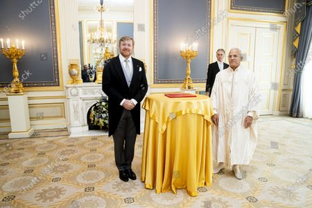 King Willem-Alexander meets Ambassador, The Hague