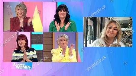 Ruth Langsford, Coleen Nolan, Janet Street-Porter, Gloria Hunniford and Bonnie Tyler