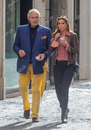 Michael Nouri and Eleonora Pieroni