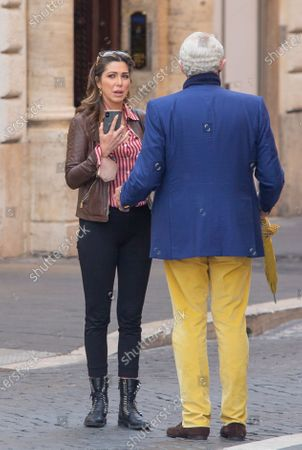 Editorial picture of Michael Nouri out and about, Rome, Italy - 20 Apr 2021