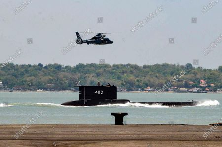 Search for missing Indonesian submarine, Bali