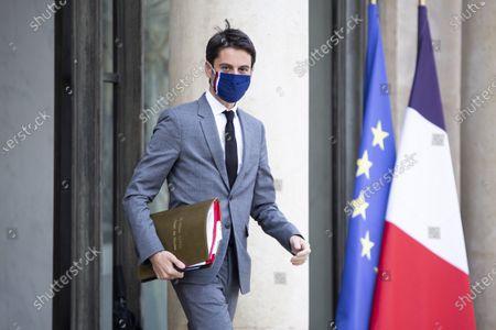 Weekly cabinet meeting, Paris