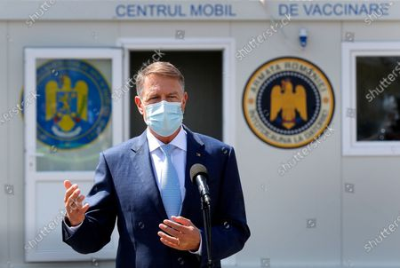 Editorial image of Romania launched mobile vaccination against COVID-19 in remote places, Bucharest - 21 Apr 2021