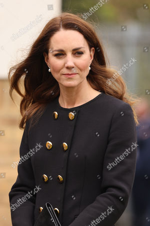 Prince William and Catherine Duchess of Cambridge visit to Cornwell VC Cadet Centre, London