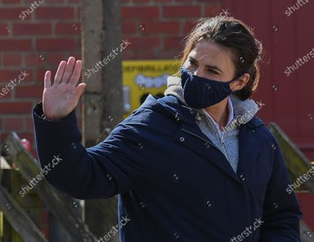 Editorial photo of 'Mission Impossible 7 - Libra' on set filming, Levisham, North Yorkshire, UK - 21 Apr 2021