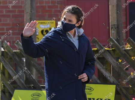 Editorial picture of 'Mission Impossible 7 - Libra' on set filming, Levisham, North Yorkshire, UK - 21 Apr 2021