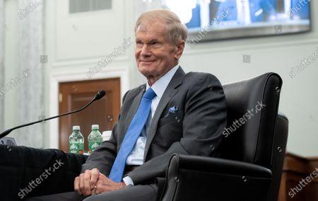 Editorial image of Former US Senator Bill Nelson, nominee to be administrator of NASA hearing at Senate, Washington, USA - 21 Apr 2021