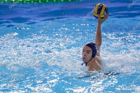 Editorial picture of Olympiacos Piraeus vs CN Marseille, LEN Cup, Champions League waterpolo match, Rome, Italy  - 21 Apr 2021