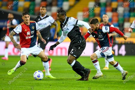 Stefano Okaka (Udinese) in action