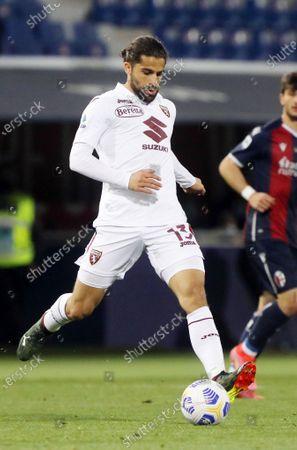 Ricardo Rodriguez (Torino Football Club) in action