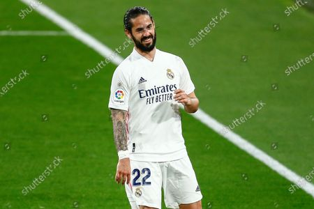 Francisco Roman Alarcon Isco of Real Madrid at full time