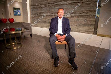 Editorial picture of Jesse Jackson, Minneapolis, United States - 21 Apr 2021
