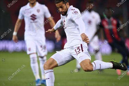 "Ricardo Rodriguez (Torino)        during the Italian ""Serie A"" match between Bologna 1-1 Torino  at  Renato Dall Ara Stadium in Bologna , Italy."