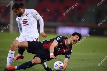 Editorial photo of Soccer: Serie A 2020-2021 : Bologna 1-1 Torino, Bologna, Italy - 21 Apr 2021