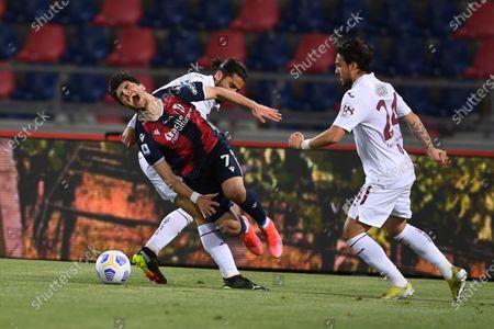 Editorial image of Soccer: Serie A 2020-2021 : Bologna 1-1 Torino, Bologna, Italy - 21 Apr 2021