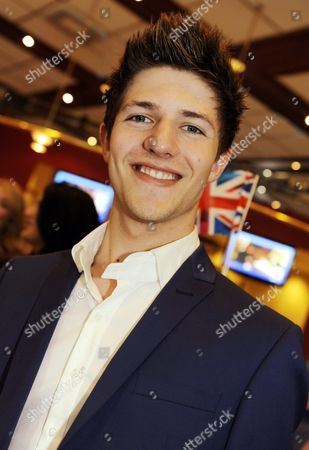 Stock Picture of Josh Dubovie of United Kingdom