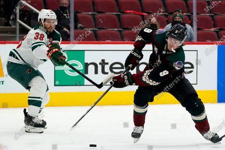 Editorial image of Wild Coyotes Hockey, Glendale, United States - 21 Apr 2021