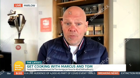 Editorial picture of 'Good Morning Britain' TV Show, London, UK - 22 Apr 2021