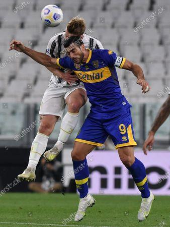 Editorial photo of Italy Turin Football Series a Juventus vs Parma - 21 Apr 2021