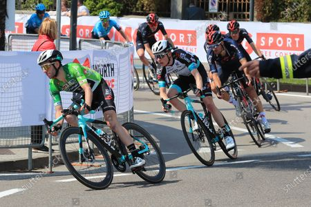 Stock Picture of Simon Yates Team BikeExchange; Cycling Tour des Alpes Stage 5, Valle del Chiese to Riva del Garda, Italy on 23rd.