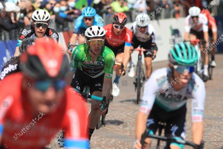 Editorial picture of Cycling Tour des Alpes, Stage 5, Valle del Chiese / Idroland to Riva del Garda, Italy - 23 Apr 2021