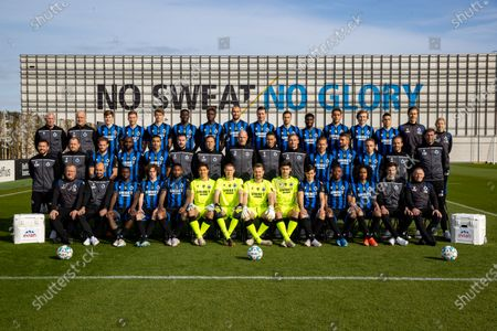 Editorial picture of Soccer Photoshoot Jpl 1a Club Brugge, Knokke, Belgium - 22 Apr 2021