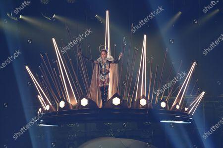 Jolin Tsai held the 'Ugly Beauty' world tour concert