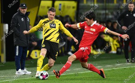 Lukasz Piszczek (Borussia Dortmund), Keita Endo (1 FC Union Berlin)