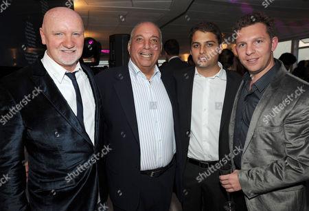 Sir Tom Hunter, David Reuben, James Reuben and Nick Candy