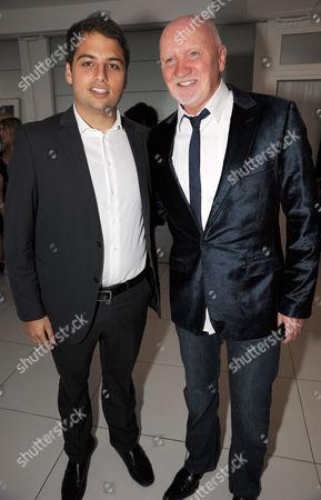 James Reuben and Sir Tom Hunter