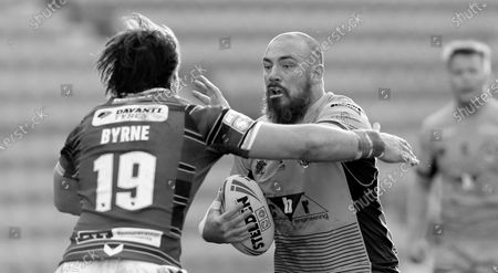 Editorial photo of Wigan Warriors v Castleford Tigers, Betfred Super League, Rugby League, DW Stadium, Wigan, UK - 22 Apr 2021