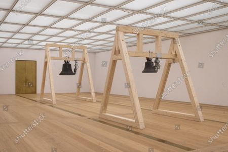 Choreographer William Forsythe's sound installation 'The Sense of Things', the first artistic intervention in the Kunsthaus Zürich's new museum building, designed by David Chipperfield, is on display in Zurich, Switzerland, 22 April 2021.