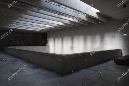 A view in the Kunsthaus Zürich's new museum building, designed by David Chipperfield, in Zurich, Switzerland, 22 April 2021.