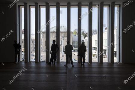 Editorial image of Kunsthaus Zürich's new museum building, Zurich, Switzerland - 22 Apr 2021